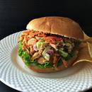 Jackfruit Burgers With Zucchini-Carrot Slaw