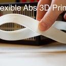 Flexible Abs 3D Prints!