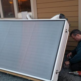 DIY Solar Panels - Air Heaters Made of Pop Cans
