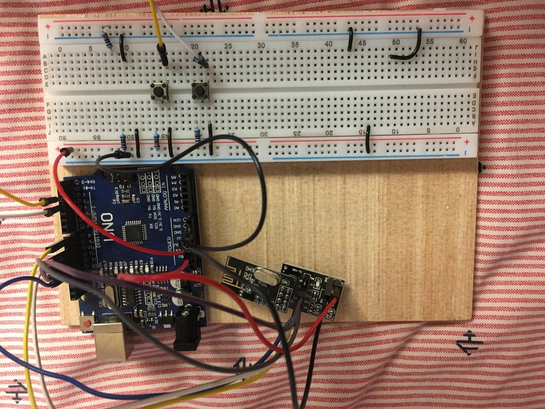 Transmitting Arduino