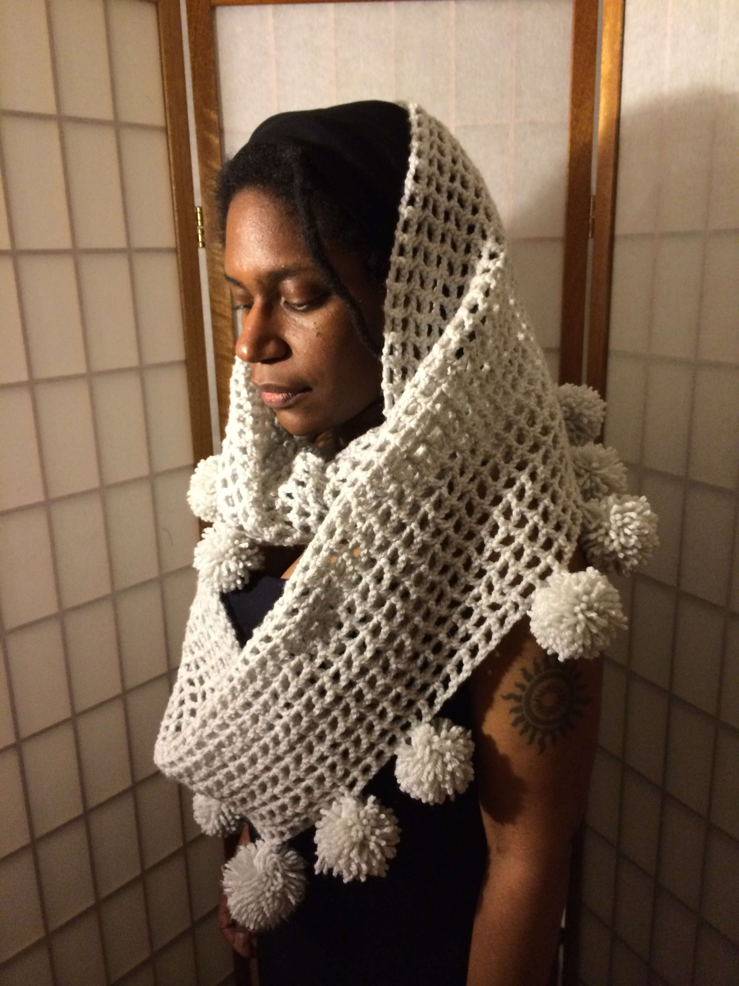 The 'easy challenge' Chain Mail Snood