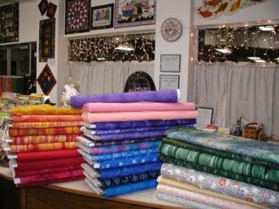 Fabrics, Needles, Threads and More