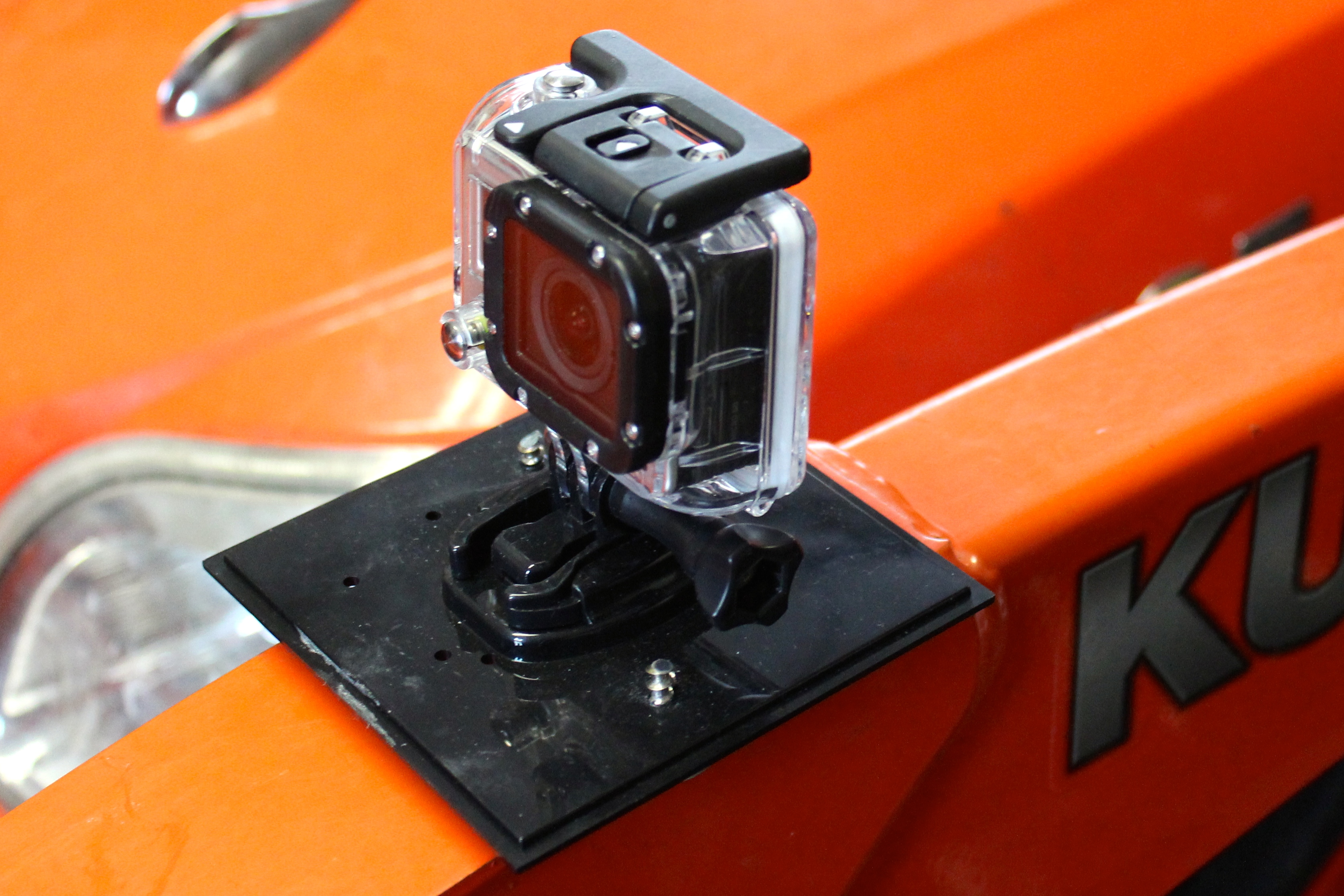 (Almost) Free Magnetic Mount for GoPro camera