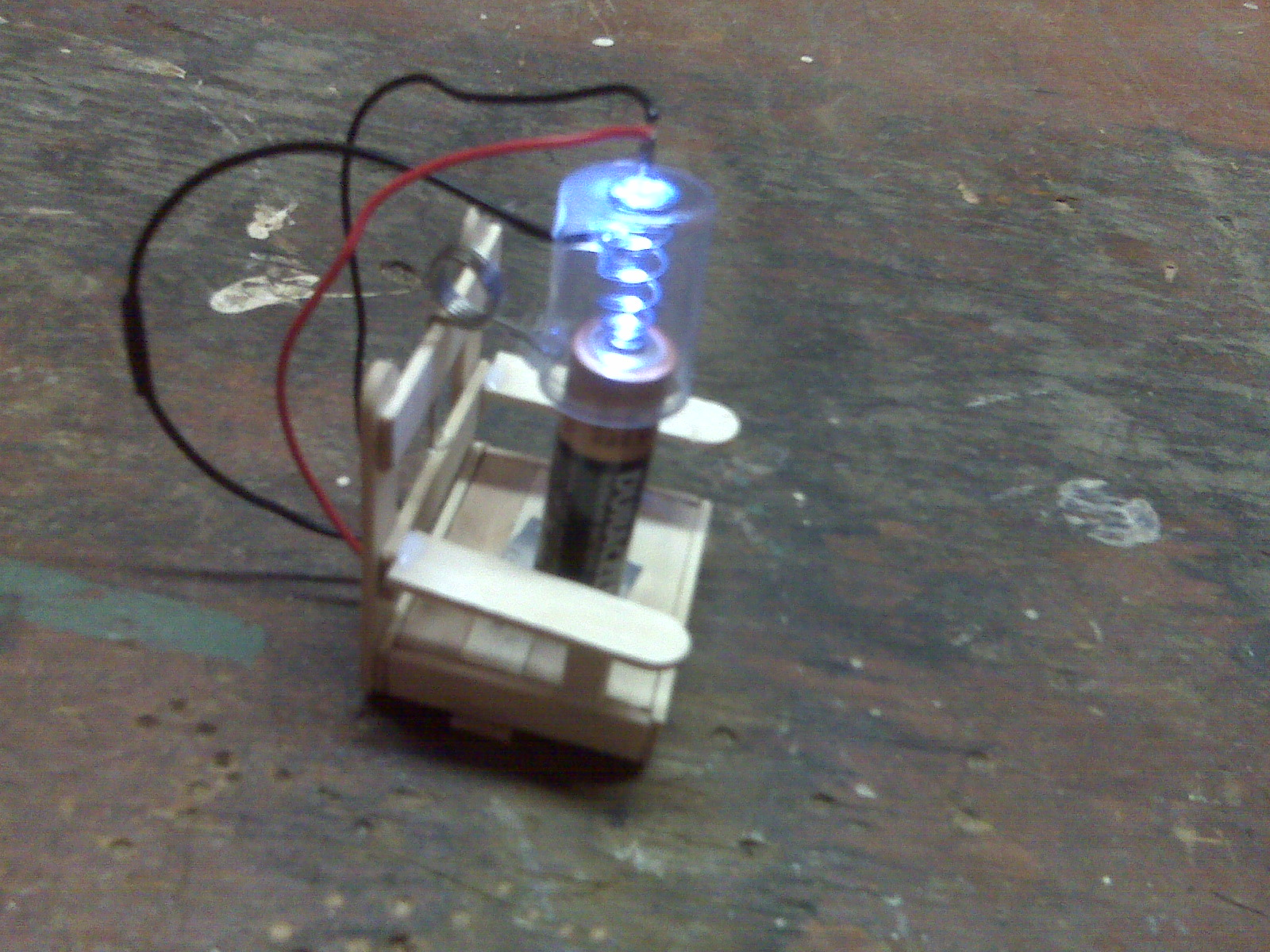 Electric Chair Joule Thief