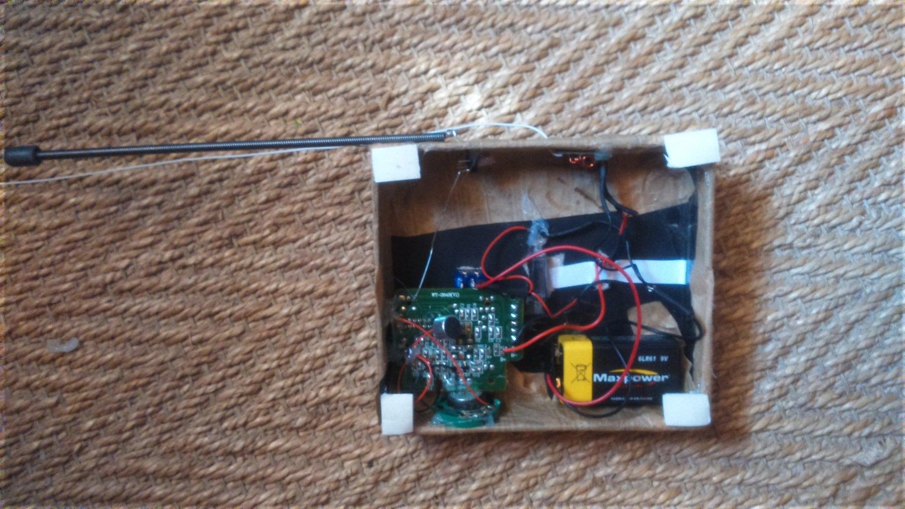 The Transmitter Panel