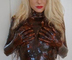 Naughty Chocolate Body Paint