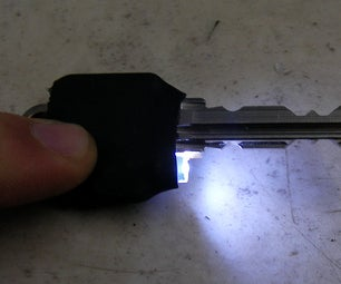 Led on Door Key for Those Dark Nights..