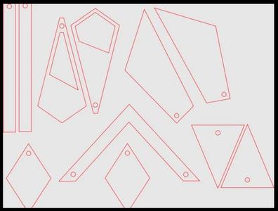 Lasercut Shape