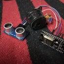 Thief Detector Using Ultrasonic and NodeMCU