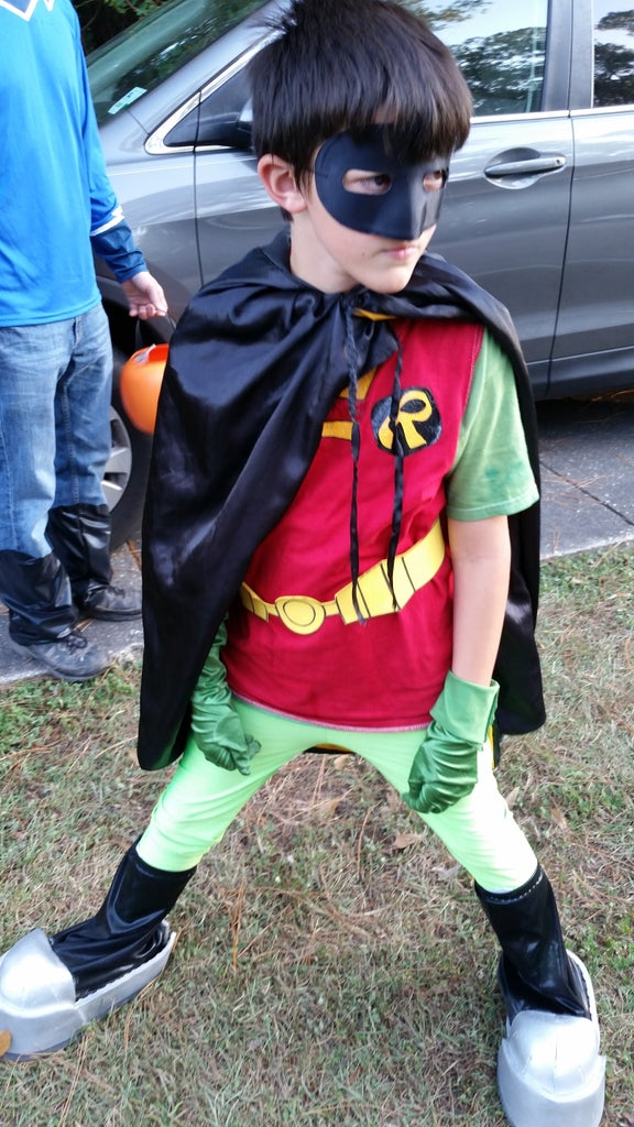 Robin Teen Titans Go Costume