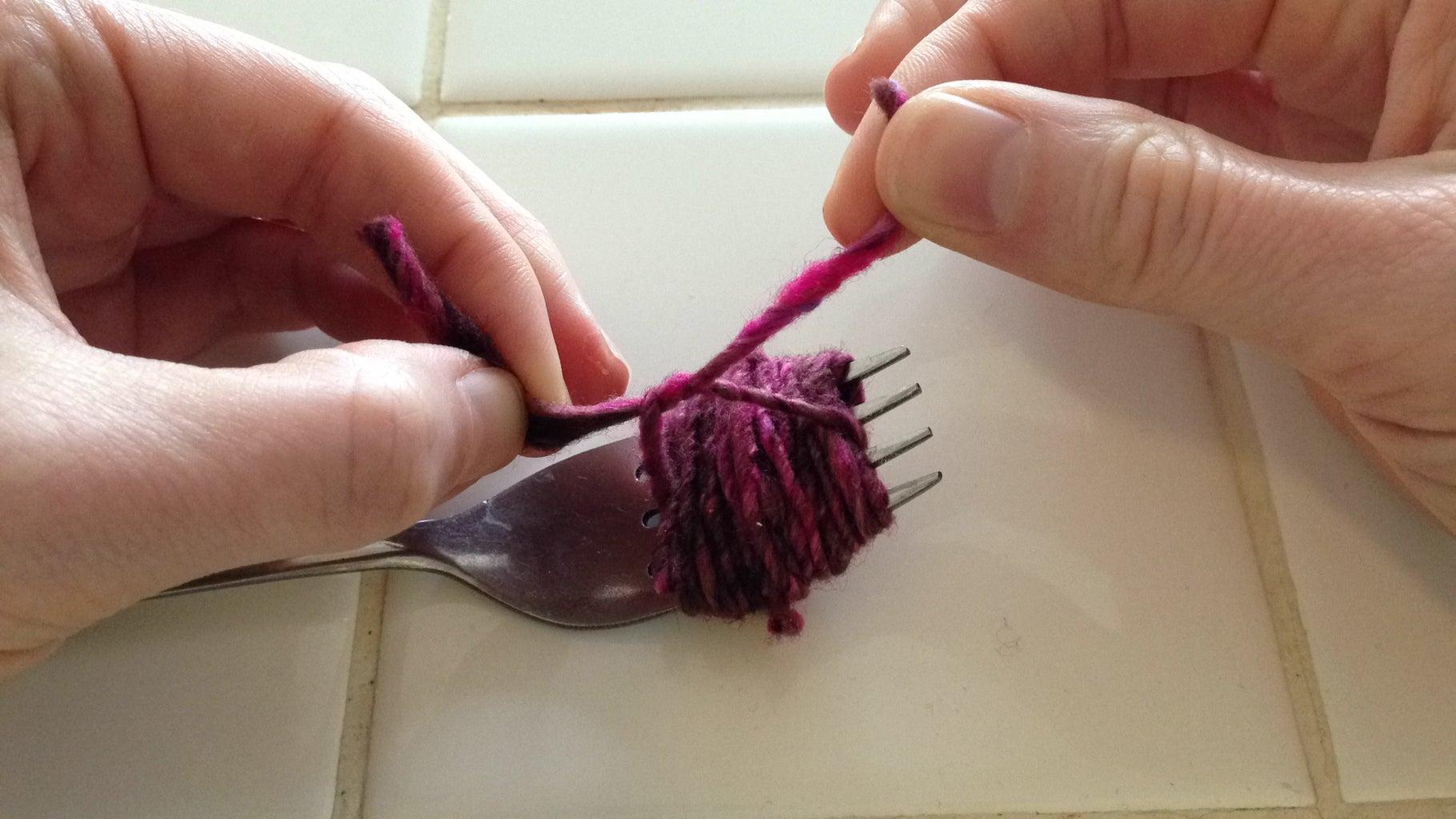 Tie Up the Pom-Pom