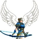 Valkyrie (Battle Angel) Costume with Magic Bow