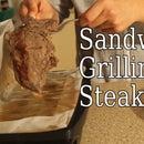 Bachelor Pad Cooking Show - Sandwich Grilling Steak (Episode 1)