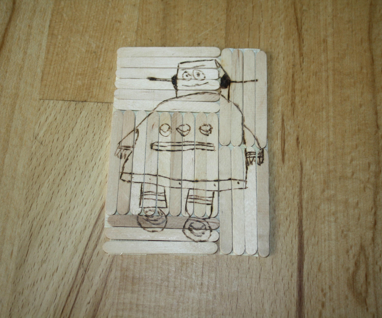 DIY Woodburning Puzzle