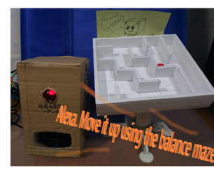 Control the Balance Maze With Alexa