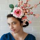 Elegant Cherry Blossom Fascinator