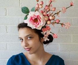 Elegant Cherry Blossom Fascinator