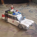 Lego Ghostbusters ecto-1 Mods
