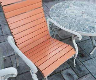 Patio Chair Re-build