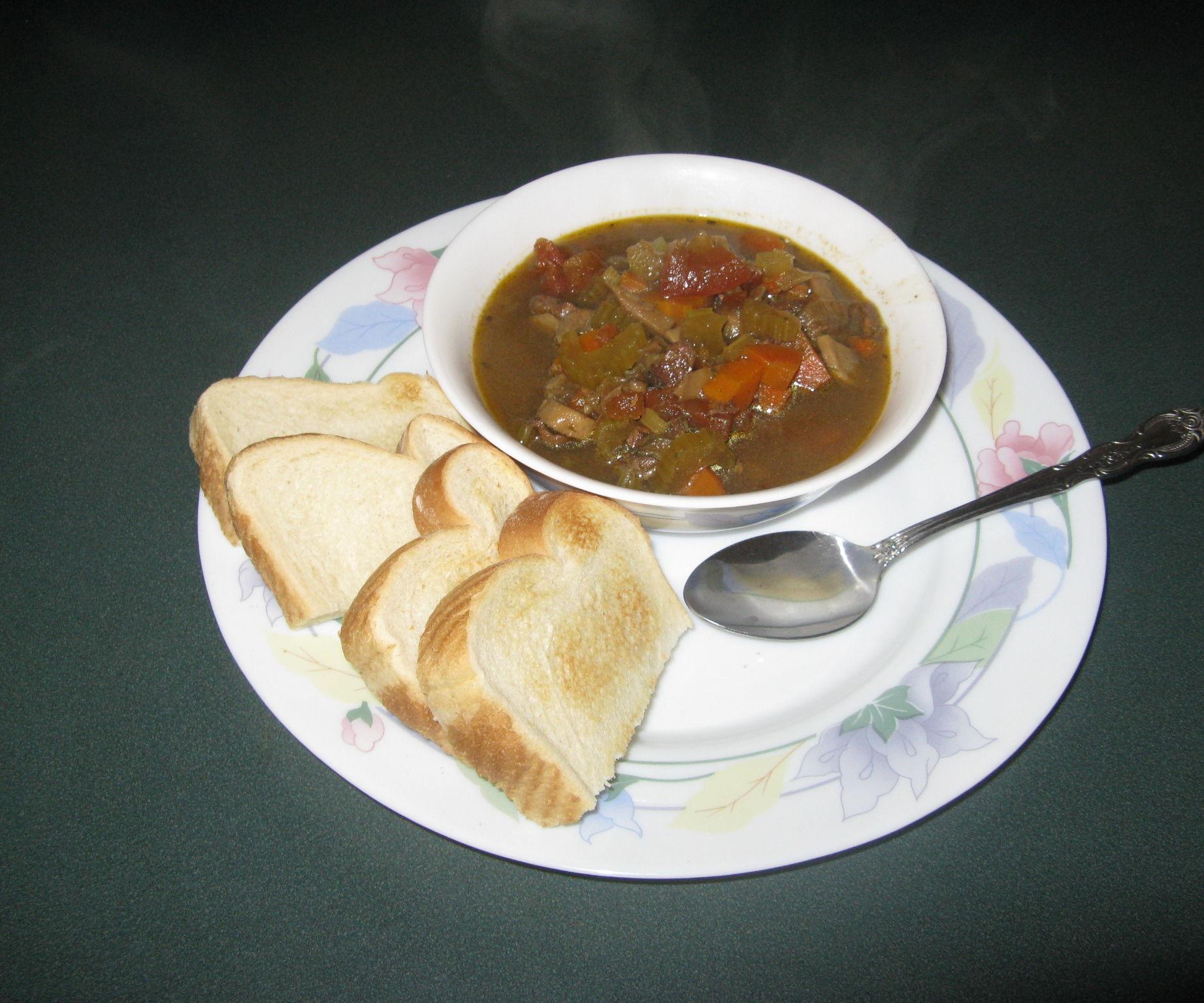 Homemade Sirloin Tip Stew