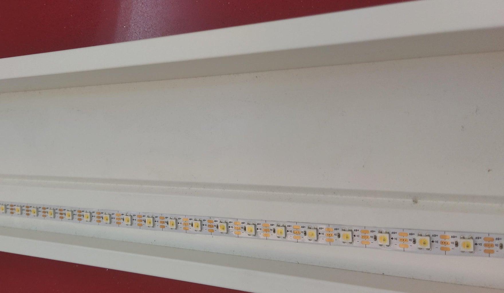 AtTiny85 Addressable LED Strip