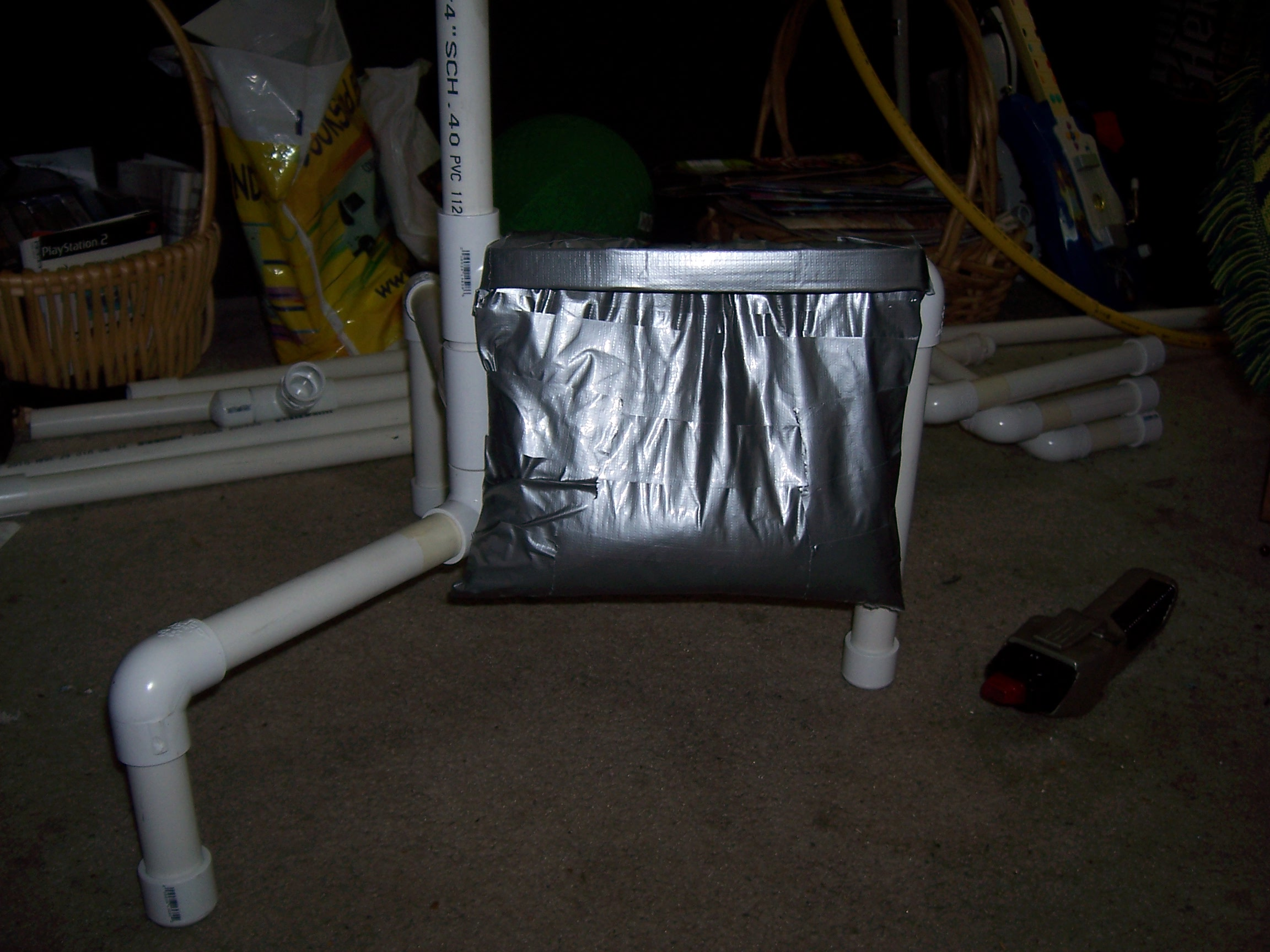 Creating DIY sandbags for your light stands