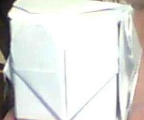 Origami Modular Heart Cube