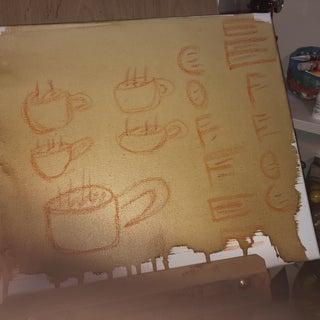 Coffee As a Painting Medium