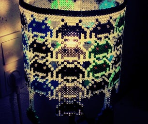 Space Invader Lampshade