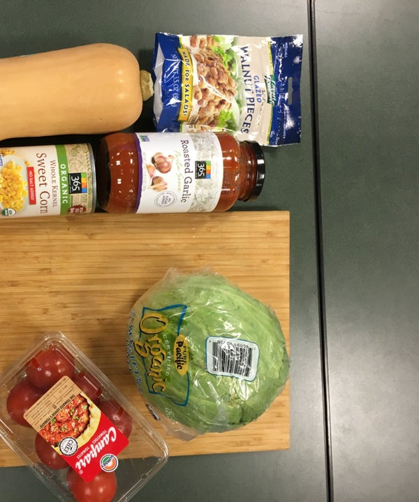 College-friendly Vegan Dinner