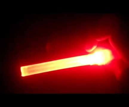 Make LED Flash Light With Glue Stick
