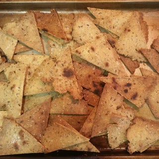 Baked Corn Tortilla Chips - From Scratch - Easy Recipe