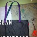 Make a tote bag into a tool roll / pencil case