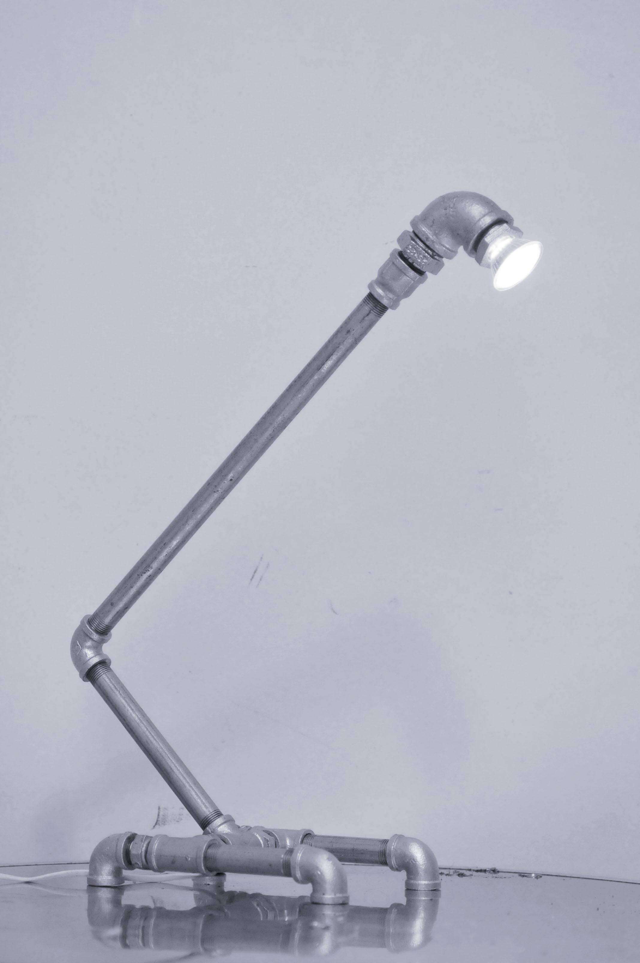 Galvanized Plumbing Parts Lamp