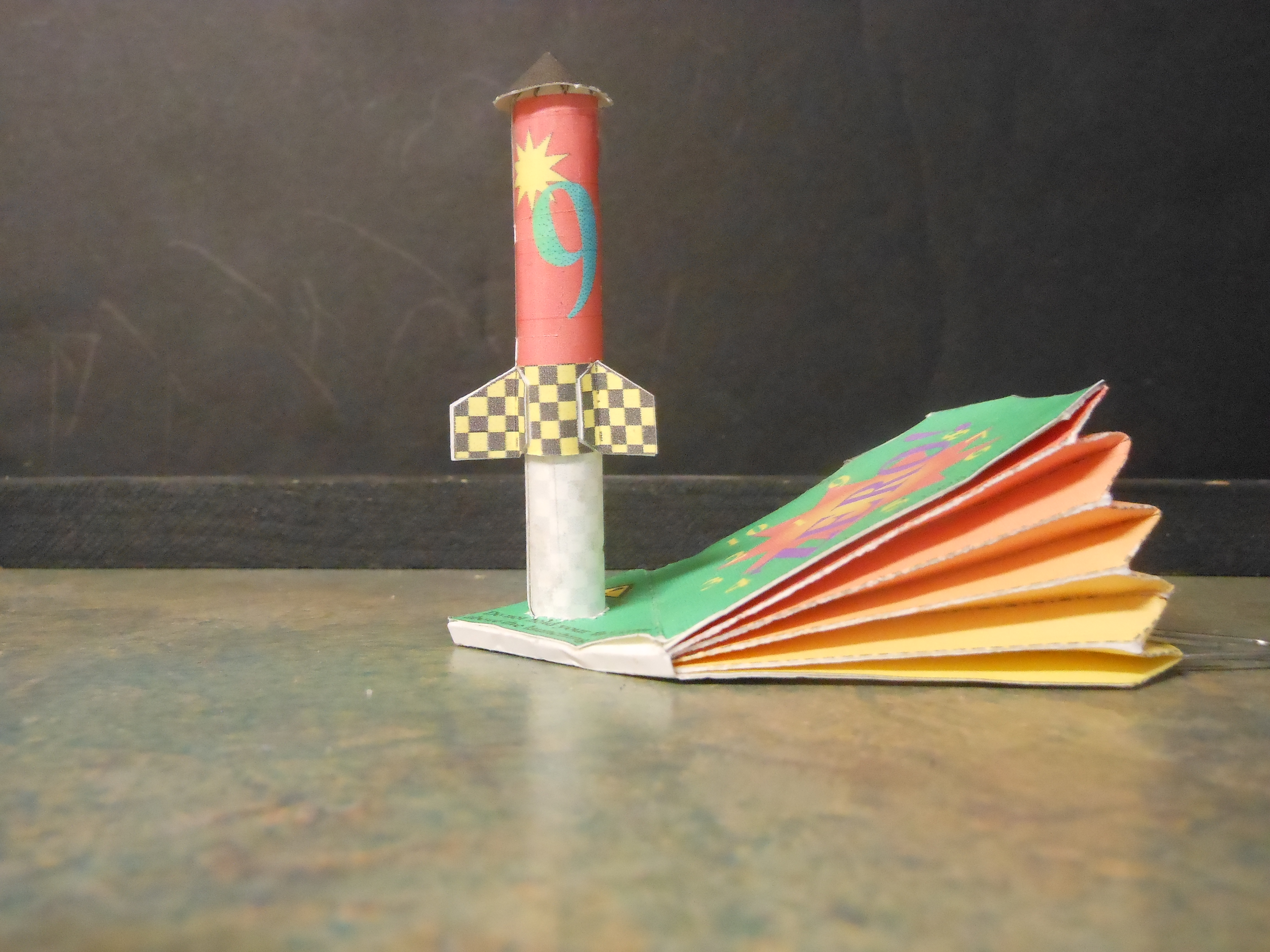 Build a Paper Rocket and Paper Launcher