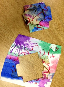 Envelope: Trace / Cut Out / Fold
