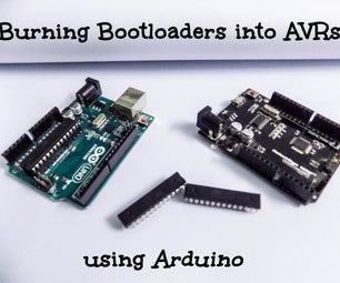 Burning Bootloaders Into AVRs Using Arduino