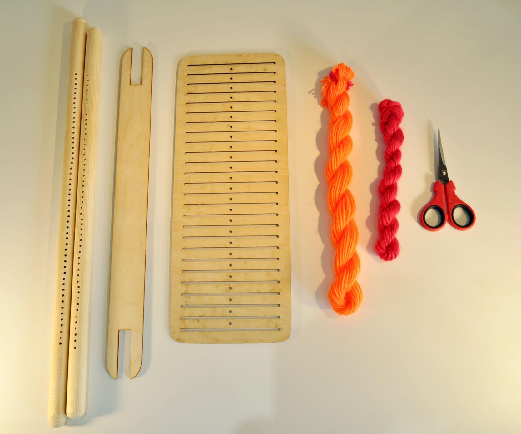 Kite weaving
