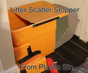 Stop Litter Scatter for Cat Litter Boxes