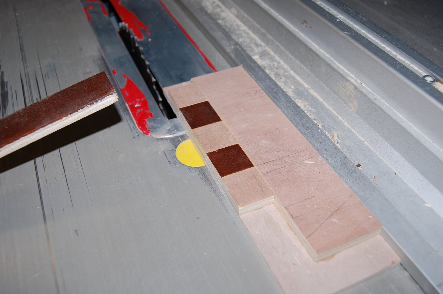 Cut Strips Into Squares