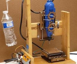 低(EST?)成本可重复的3轴CNC磨机