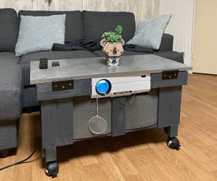 All-in-One Home Cinema Coffee Table
