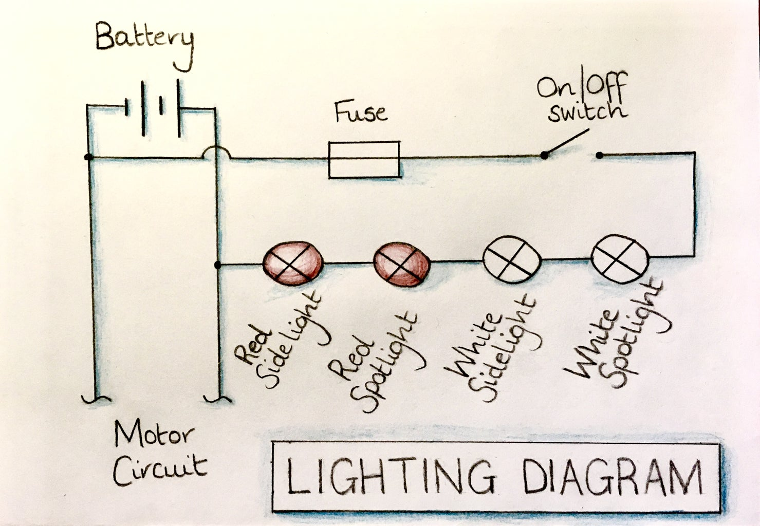 Create the Lighting Circuit