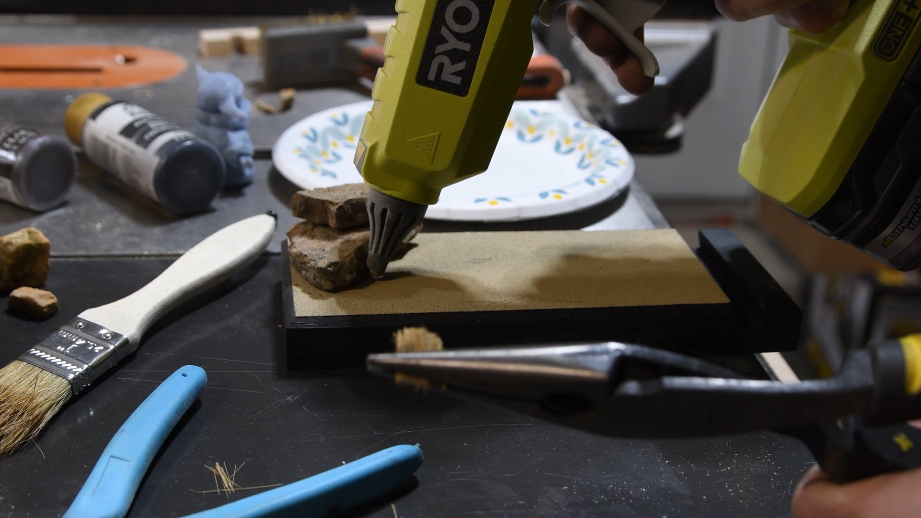 Glue the Stuff Down
