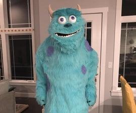 Sulley (Trademark Disney) Monster Homemade Halloween Costume