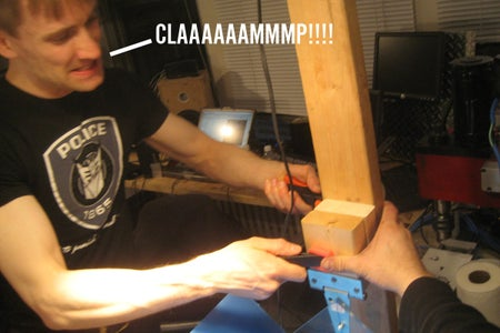 Platen: CLAMP