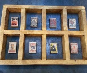 Lonesoulsurfers Vintage Matchbox Display