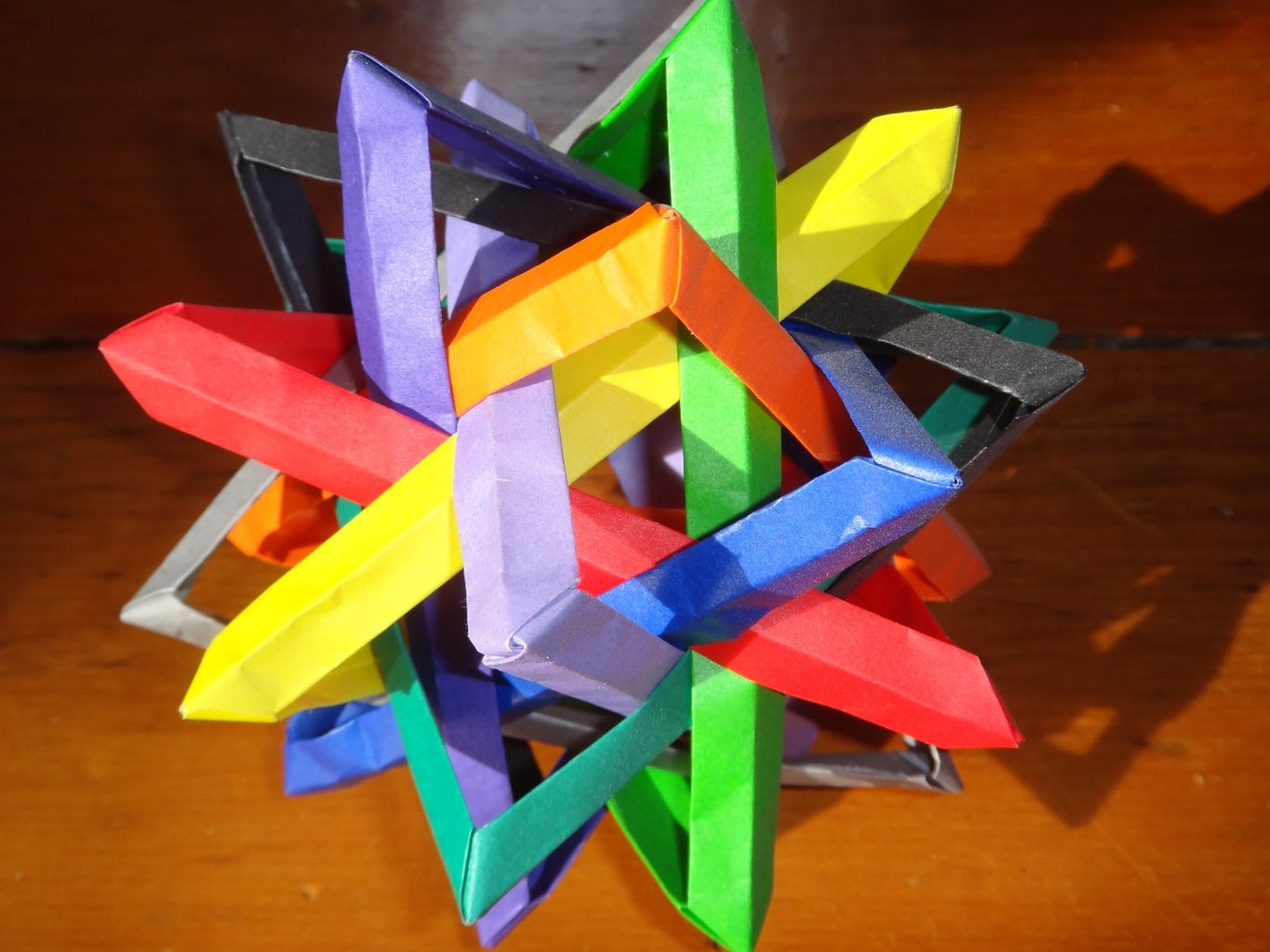 The Math and Art in Origami - How to Make Geometric Wireframes