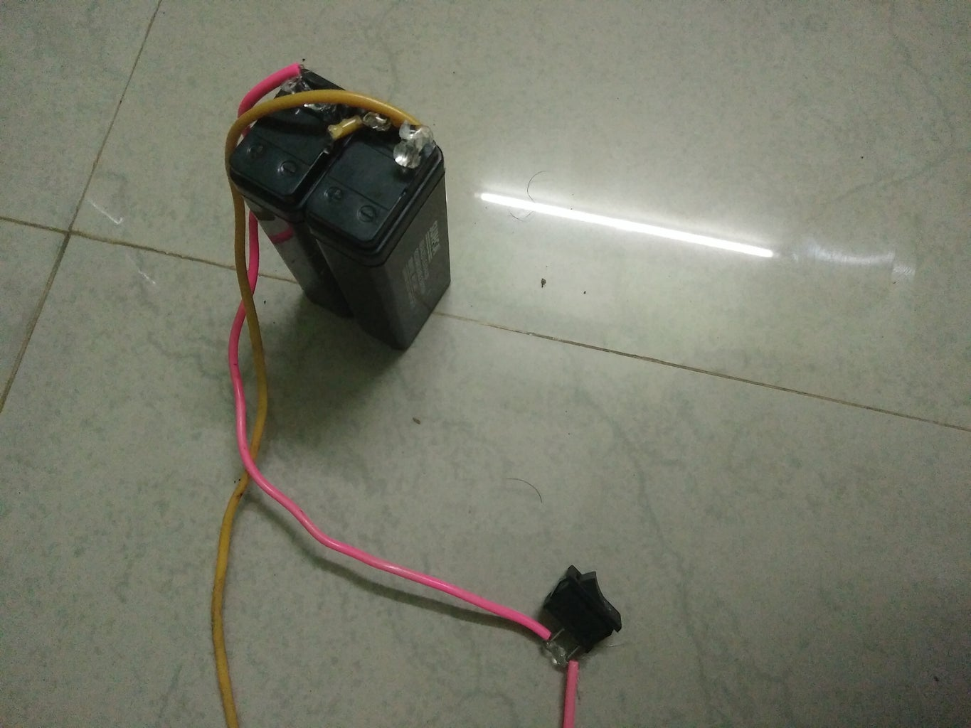 Arduino UNO and Battery Cnnection