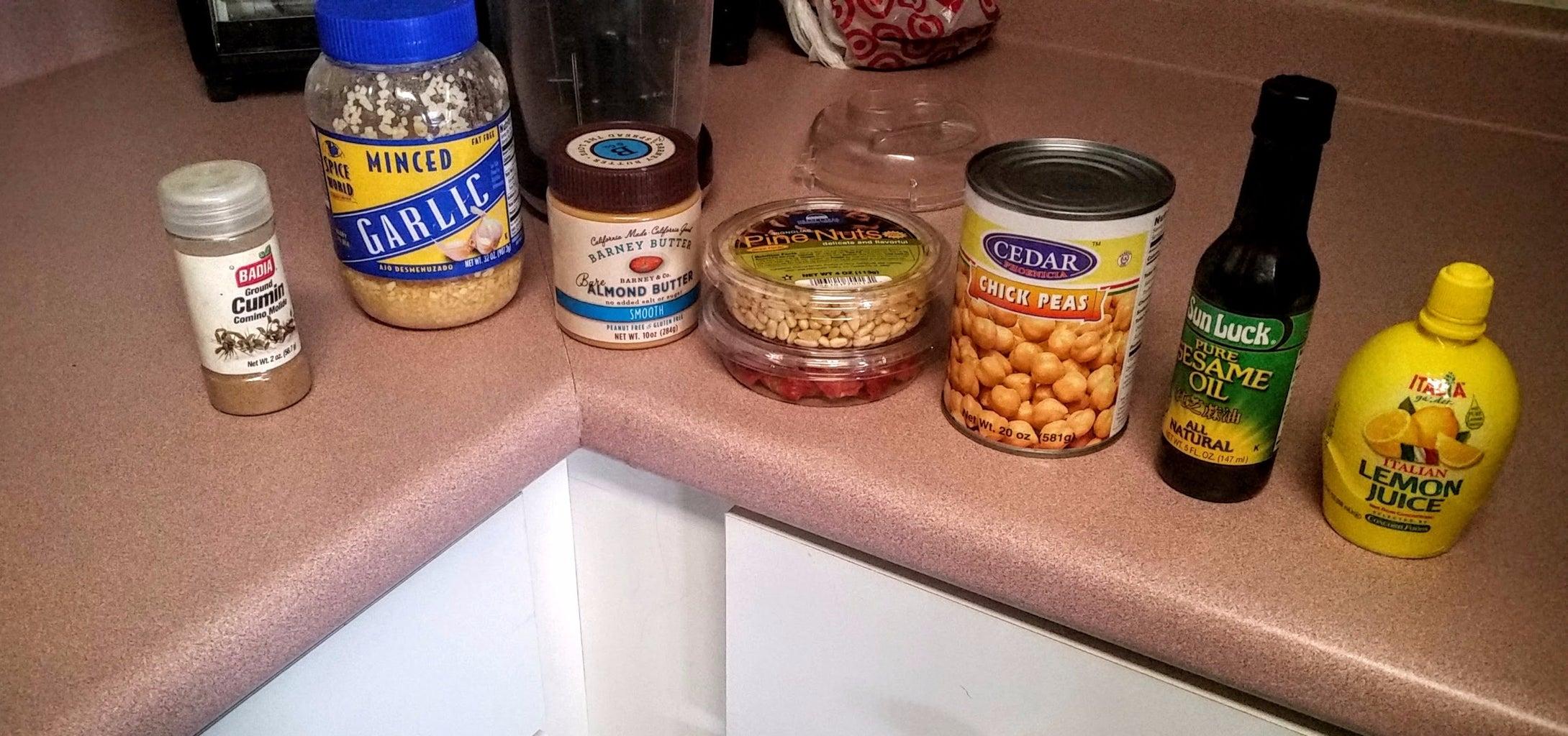 Pine Nut & Dried Tomato Hummus